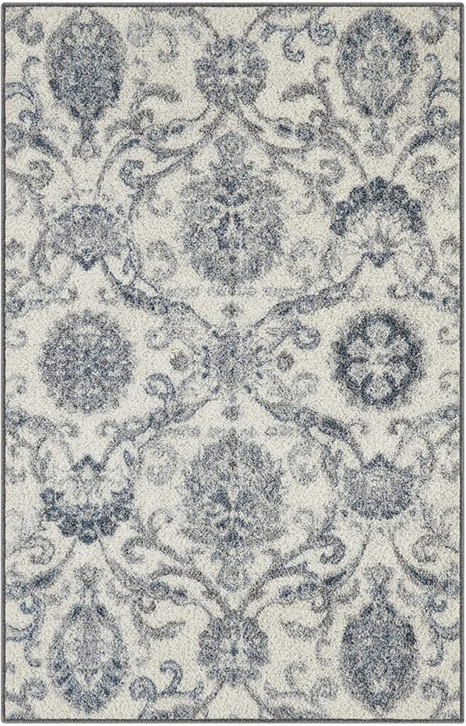 Maples Rugs Blooming Damask Kitchen Rugs