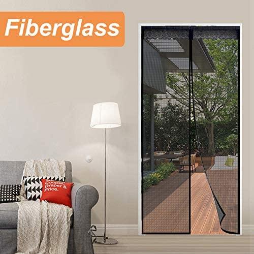 Reliancer Fiberglass Magnetic Screen Door