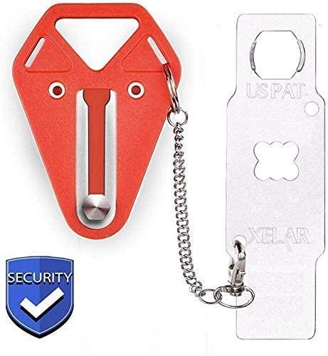 Portable Door Locker Door Lock by XELAR