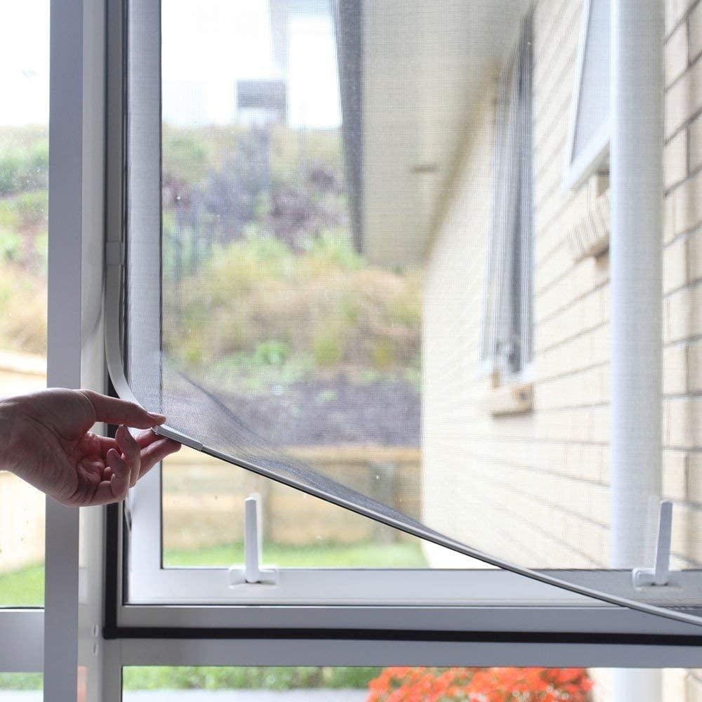 NeatiEase Adjustable DIY Magnetic Window Screen