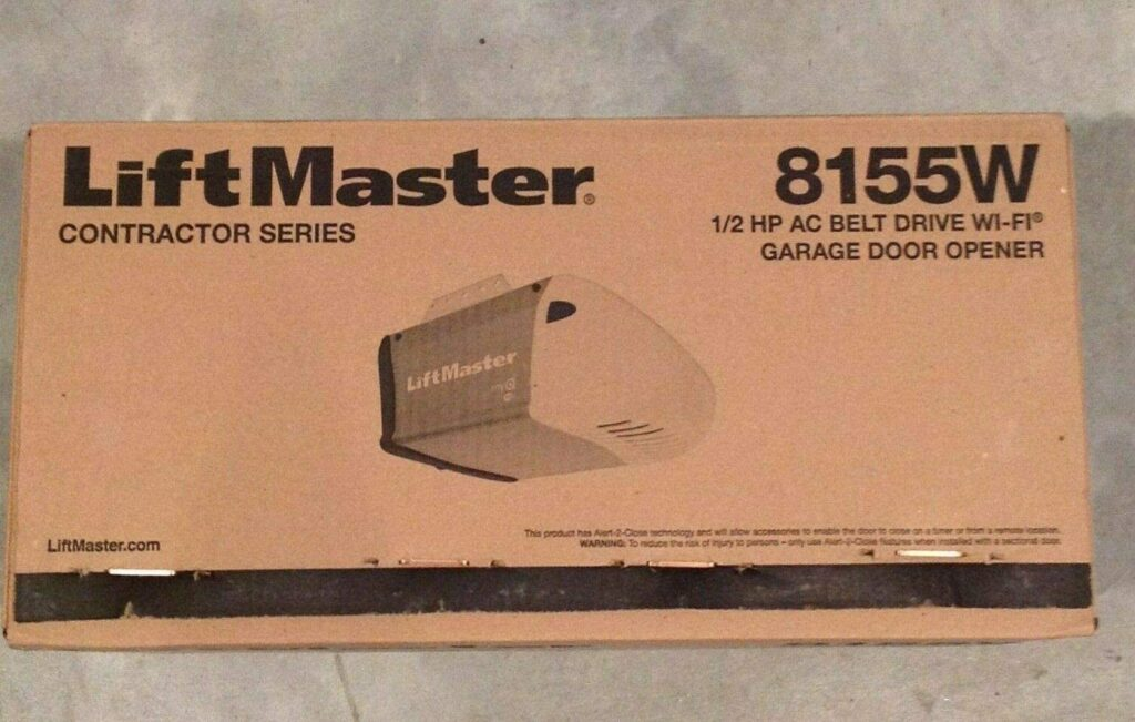 LiftMaster Contractor Series 8155 Garage Door Opener