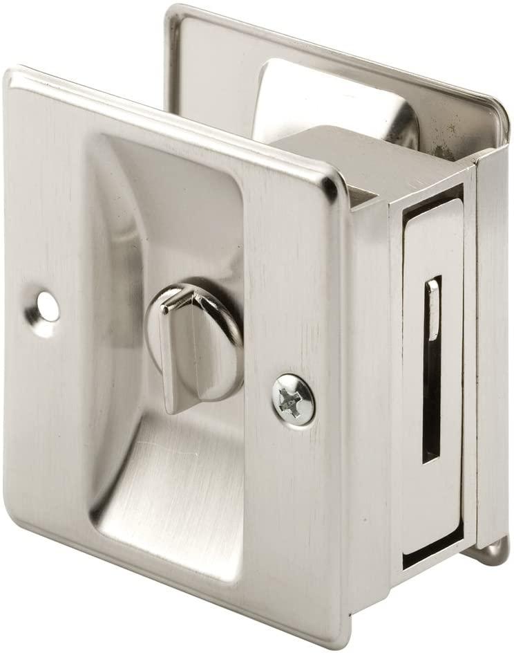 Prime-Line N 7239 Pocket Door Privacy Lock