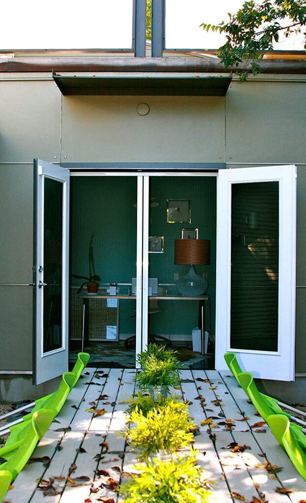 Double Door Retractable Door Screen