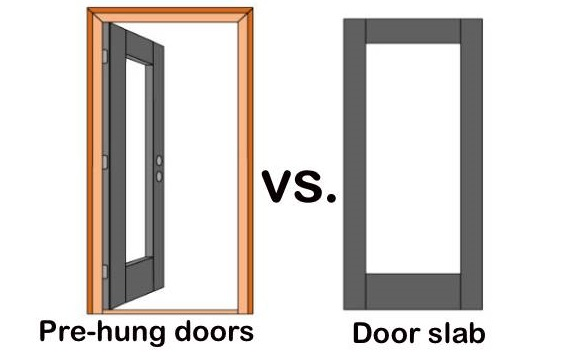 Pre-Hung Doors Vs Slab Doors