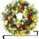 Best Christmas door wreaths