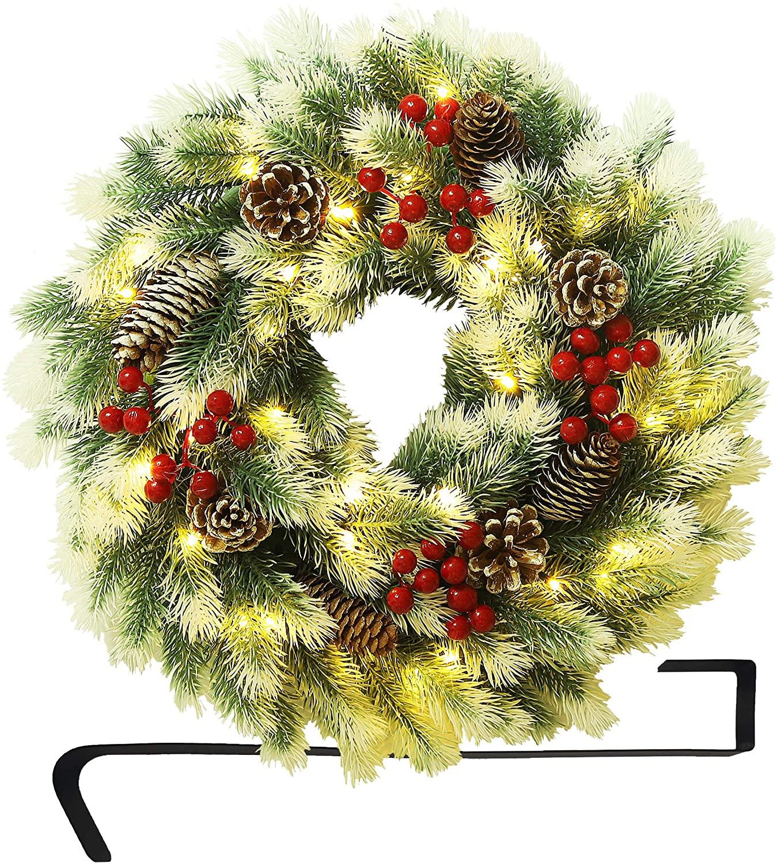 Best Christmas Door Wreaths Front Door and Outdoor