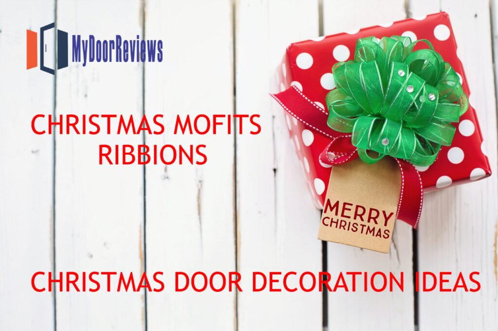 Christmas Mofits Ribbions