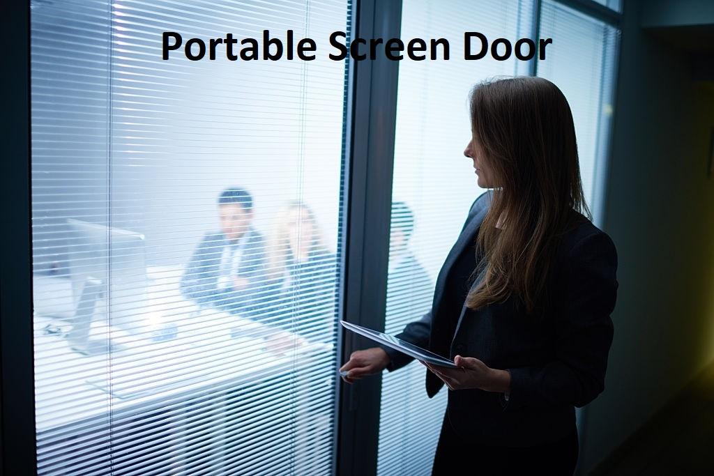 Portable Screen Door